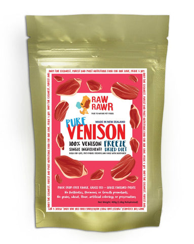 Raw Rawr Freeze Dried Pure Venison