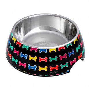 Fuzzyard Easy Feeder Bowl - Jelly Bones