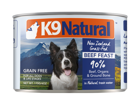 K9 Natural Canned Beef Feast