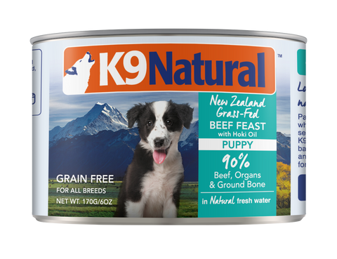K9 Natural Canned Puppy Feast