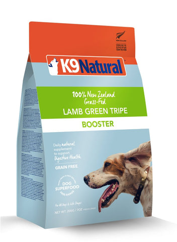 K9 Natural Freeze Dried Lamb Green Tripe Booster