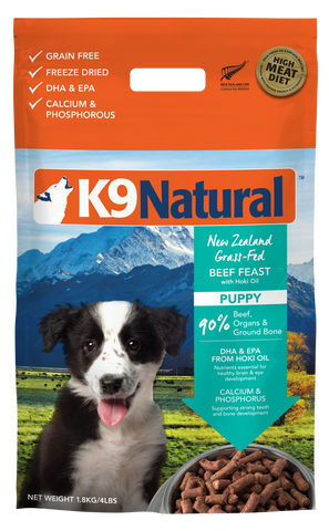 K9 Natural Freeze Dried Puppy Feast