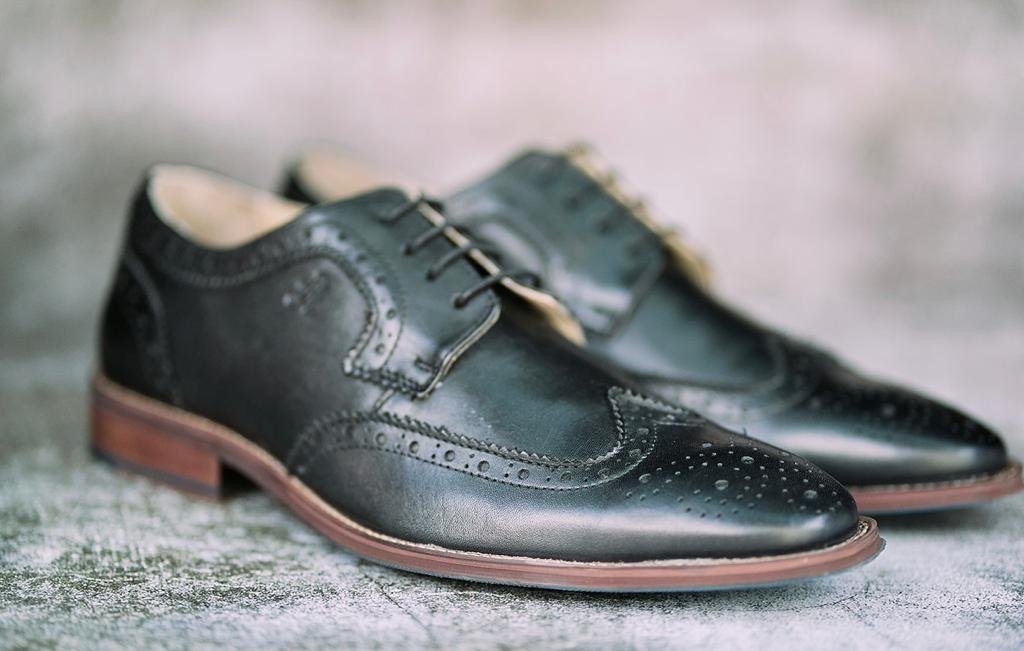 Amen Black Men's Brogue - Amen shoes