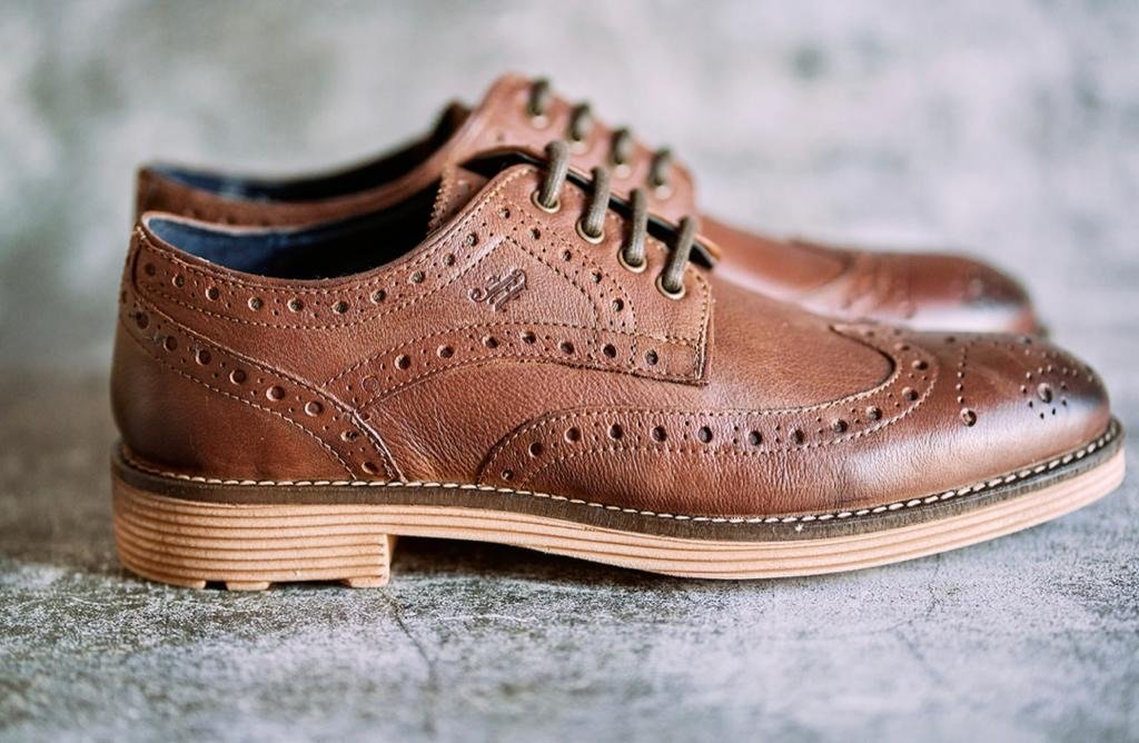 Amen Brown Leather 'Contemporary' Brogue - Amen shoes