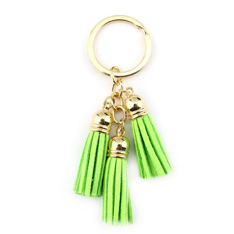 Tassel Keychain in Green