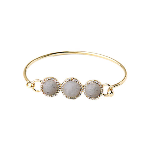 Three Stone Bangle