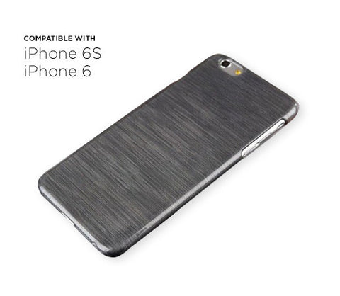 iPhone 6s / 6 Thin Brushed Case (Dark Grey)