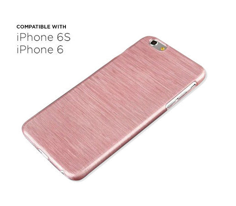 iPhone 6s/6 Thin Brushed Case (Pink)