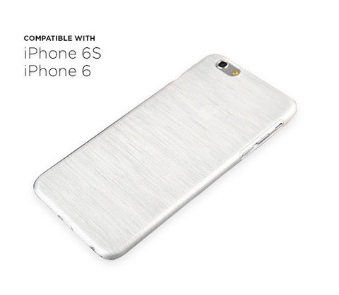 iPhone 6s/6 Thin Brushed Case (White)