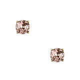 Vintage Stud Earrings in Pink