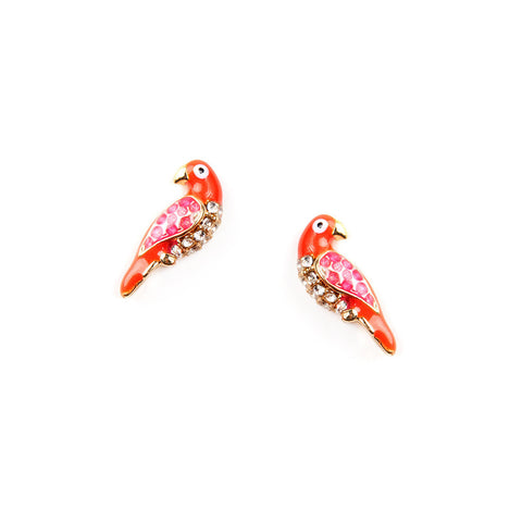 Parrot Stud Earrings