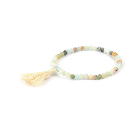 Mini Bead Bracelet - Natural Stones