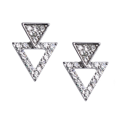Triangle Duo Convertible Earring Jackets