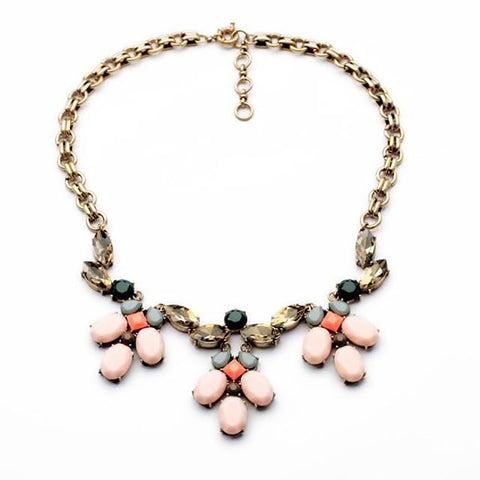 Afterglow Gem Statement Necklace