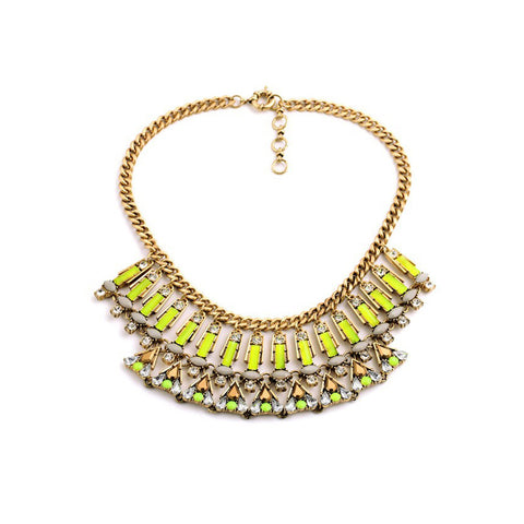 Pop of Yellow Necklace