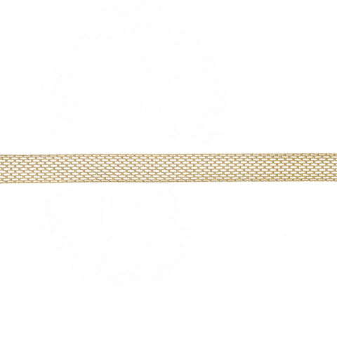 Gold Metal Mesh Choker