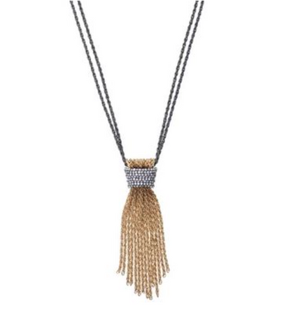 Mixed Metal Tassel