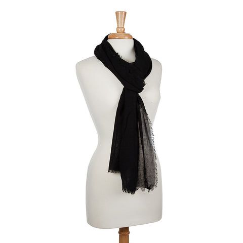 Lightweight Everyday Scarf - Black