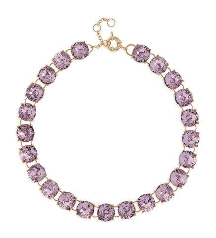 Maddie Necklace in Purple