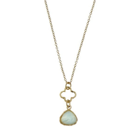 Jane Necklace in Teal - 100% proceeds donated