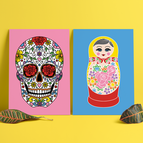 Folk Art Prints