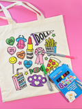 Girl Gang Tote Bag