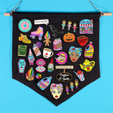 Pin Pennant Display