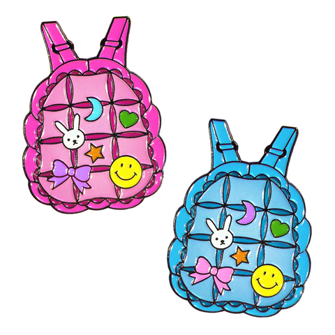 Bubble Backpack Pins