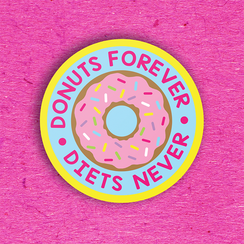 Donuts Forever 3 Sticker Pack