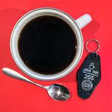 Java Inn Coffee Motel Keyrings