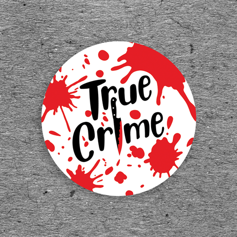True Crime 3 Sticker Pack