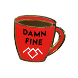 Damn Fine Coffee Hard Enamel Pin