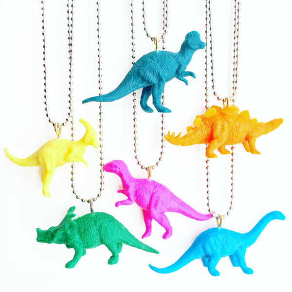 Candy Dinosaur Necklaces