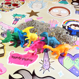 Toy Dinosaur Necklaces Lucky Dip