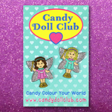 Fairy Dolly Pins