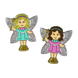 Polly Doll Fairy Pins