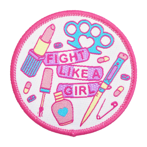 Fight Like A Girl Patch PREORDER