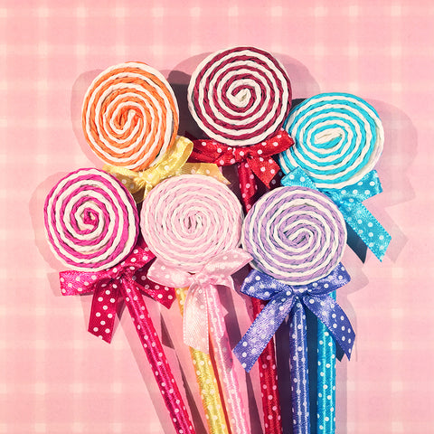 Flat Lollipop Novelty Pens