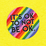 It's ok to not be ok 3 Sticker Pack