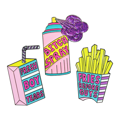 Girl Gang Pins