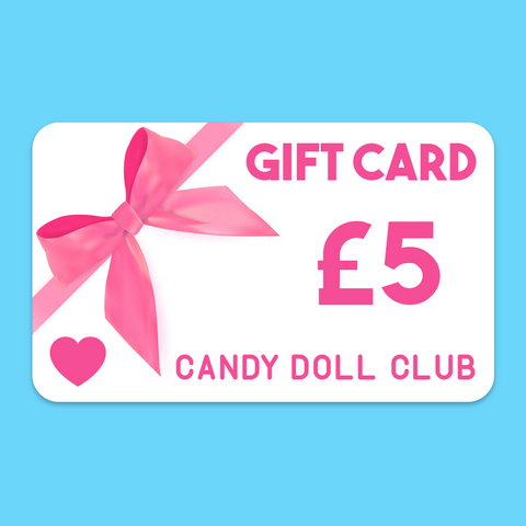 Candy Doll Club Gift Card