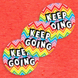 Keep Going 3 Sticker Pack