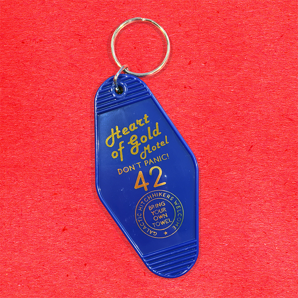 Heart of Gold Motel Keyrings