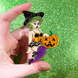 Spooky Brooches