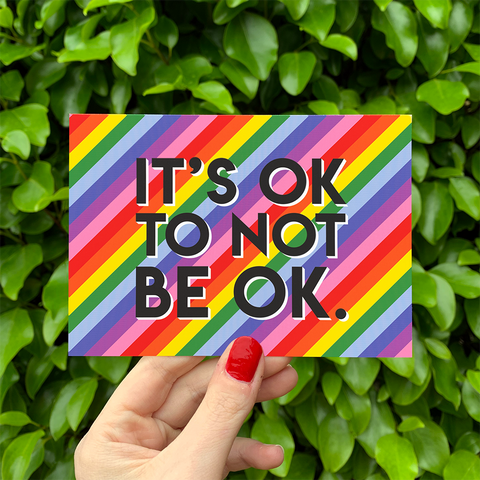It's Ok to not be Ok Postcards