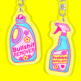 Spring Cleaning Keyrings