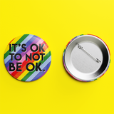 It's ok to not be ok button badge