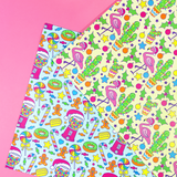 Kitschy Cute Wrapping Paper