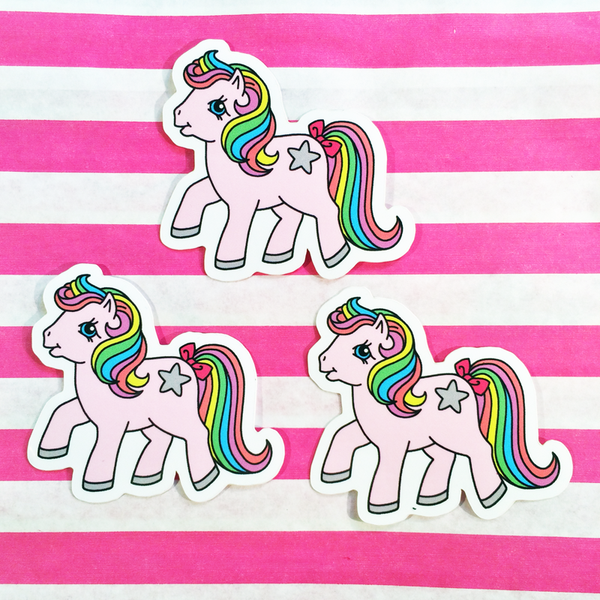 MINI Magic Pony 3 Sticker pack