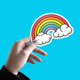 BIG Rainbow Vinyl Sticker